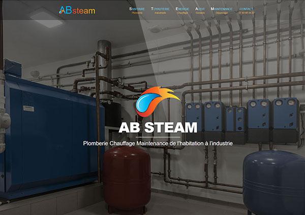 création site internet ab-steam Blois Loir-et-cher