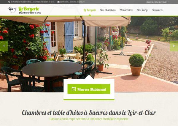création site internet la bergerie