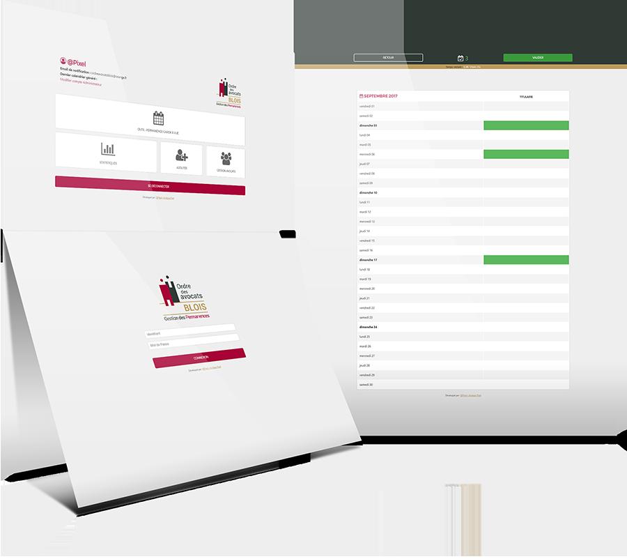 logiciel en ligne planning gestion permanence Blois Loir-et-cher