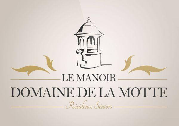 conception logo Manoir Domaine de la Motte