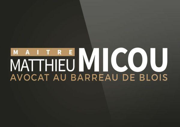 conception logo Maître Matthieu MICOU