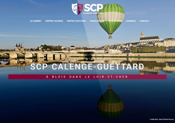 création site internet scp calenge guettard