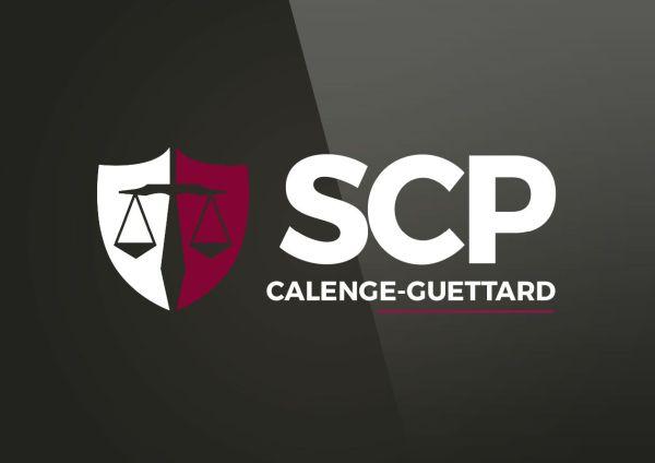 conception logo scp calenge guettard